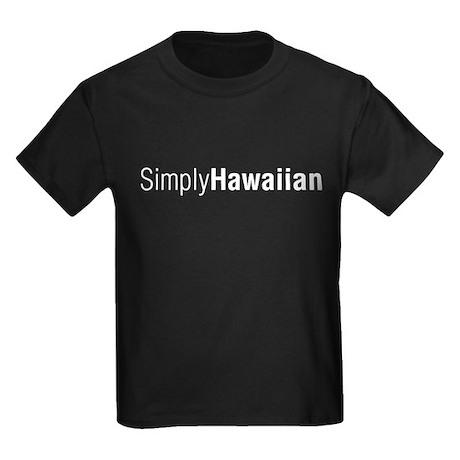 SimplyHawaiian Dark Kids Dark T-Shirt