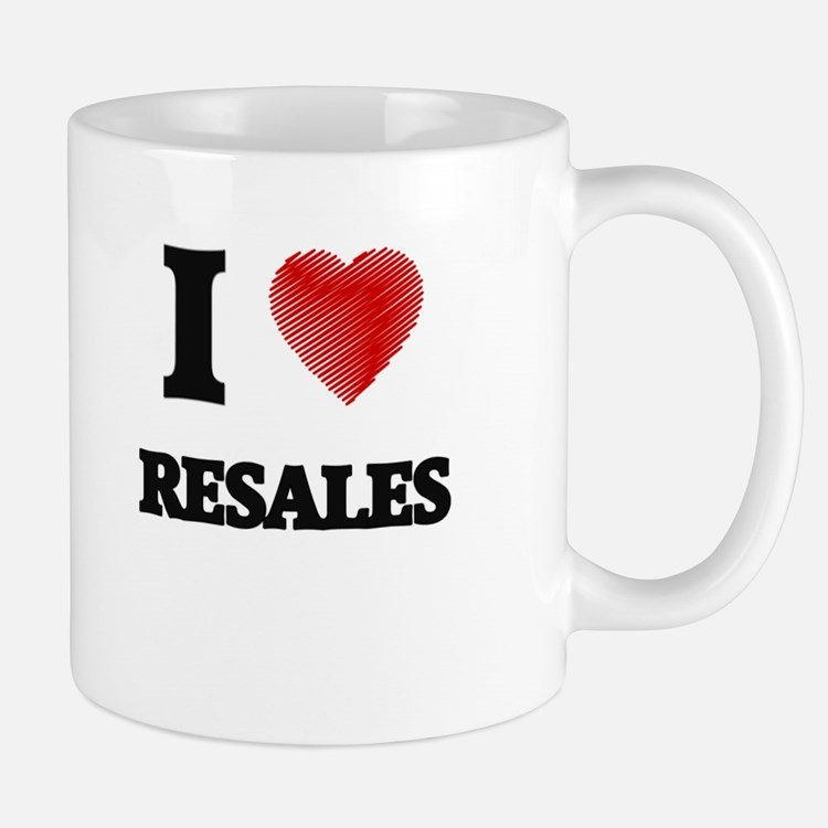 I Love Resales Mugs
