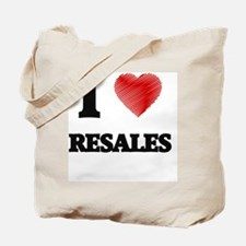 I Love Resales Tote Bag