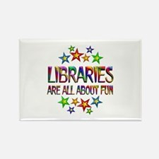 Libraries About Fun Rectangle Magnet