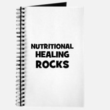 Nutritional Healing Rocks Journal