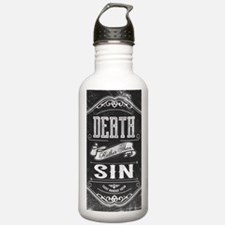 Death Rather Than Sin Water Bottle