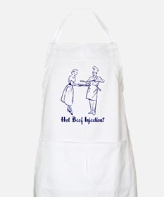 Hot Beef Injection? BBQ Apron