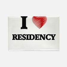 I Love Residency Magnets