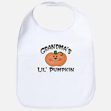 Grandma's Lil Pumpkin Bib