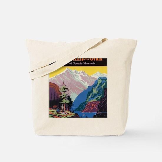Cool Black hills Tote Bag