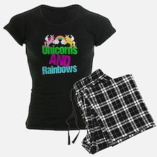 Unicorns Rainbow Cute Pajamas