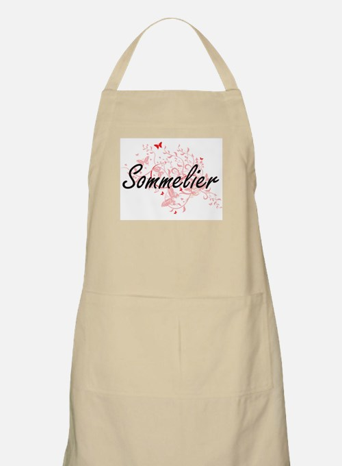 Sommelier Artistic Job Design with Butterfli Apron