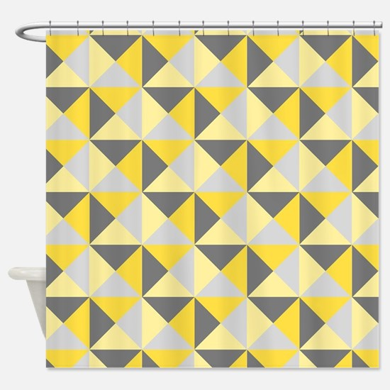 Cute Mustard Shower Curtain