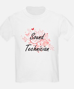 Sound Technician Artistic Job Design with T-Shirt