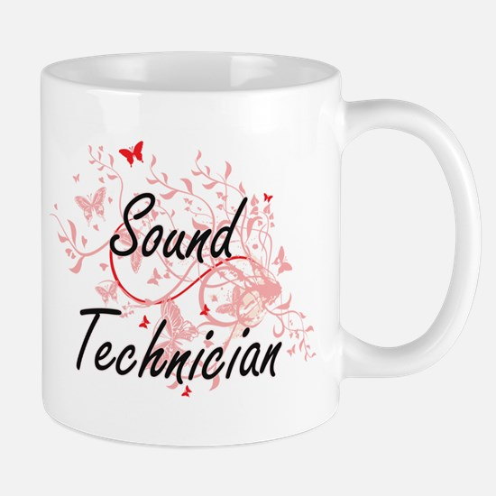 Sound Technician Artistic Job Design with But Mugs