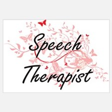 Funny Love a therapist Wall Art