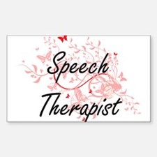 Speech Therapist Artistic Job Design with Decal