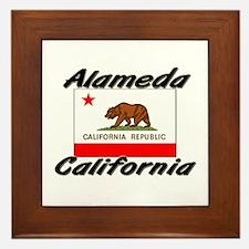 Alameda California Framed Tile