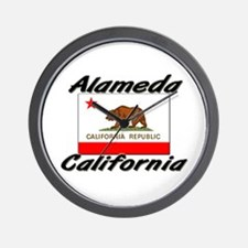 Alameda California Wall Clock