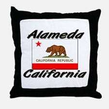 Alameda California Throw Pillow