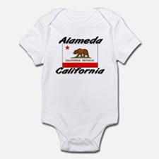 Alameda California Infant Bodysuit