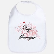 Stage Manager Artistic Job Design with Butterf Bib