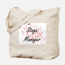 Stage Manager Artistic Job Design with Bu Tote Bag