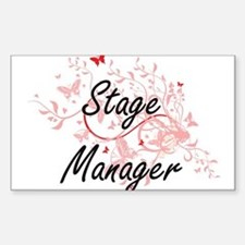 Stage Manager Artistic Job Design with But Decal