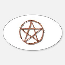 Funny Paganism Sticker (Oval)