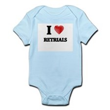 I Love Retrials Body Suit