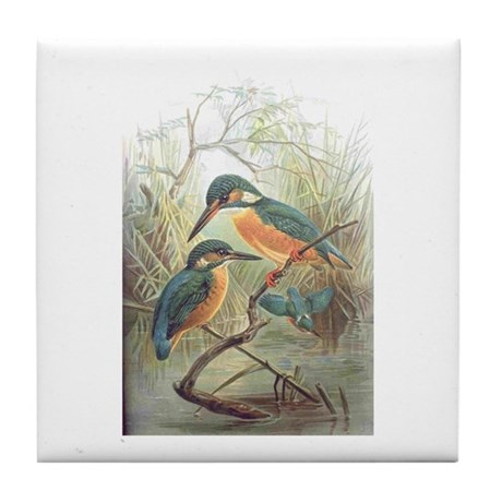 Kingfisher Tile Coaster