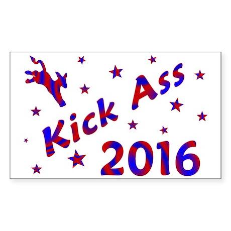 Kick Ass 2016 * Rectangle Sticker