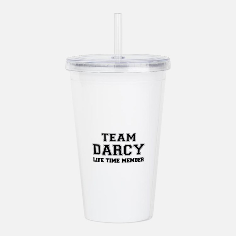 Team DARCY, life time Acrylic Double-wall Tumbler