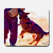 German Shepherd Protect 3 Mousepad