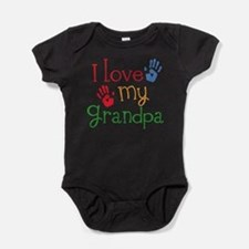 Cute Grandpa Baby Bodysuit