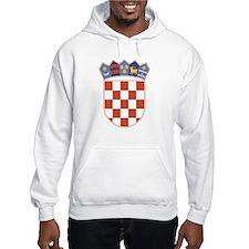 Croatia Arms Hoodie