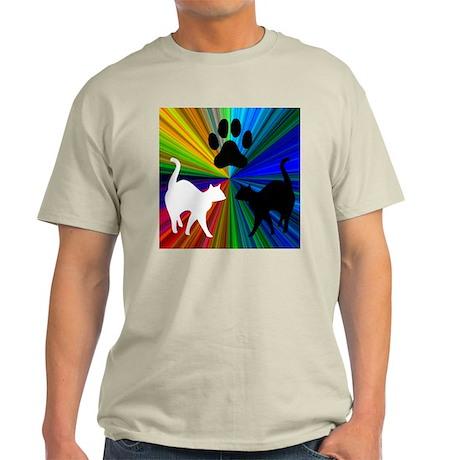 RAINBOW PAW CATS Light T-Shirt
