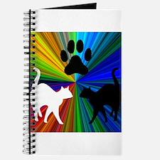 RAINBOW PAW CATS Journal