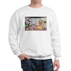 2 Dirty Pussies; Sweatshirt