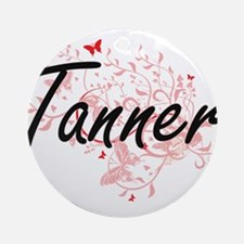 Tanner Artistic Job Design with But Round Ornament