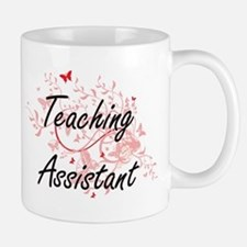Teaching Assistant Artistic Job Design with B Mugs
