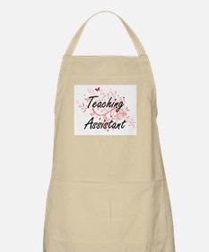Teaching Assistant Artistic Job Design with Apron