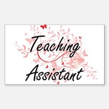 Teaching Assistant Artistic Job Design wit Decal