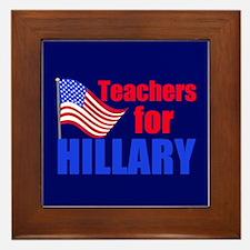 Teachers for Clinton Framed Tile