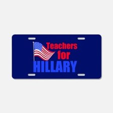 Teachers for Clinton Aluminum License Plate