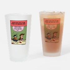 Four Cups Of Wine Drinking Glass