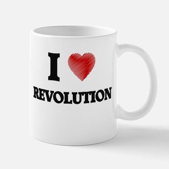 I Love Revolution Mugs
