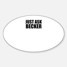 Just ask BECKER Decal