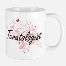 Teratologist Artistic Job Design with Butterf Mugs