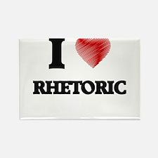 I Love Rhetoric Magnets