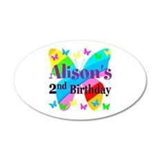 2ND BIRTHDAY Wall Decal