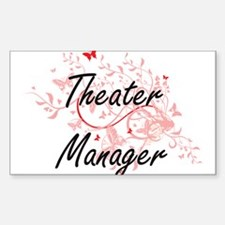 Theater Manager Artistic Job Design with B Decal