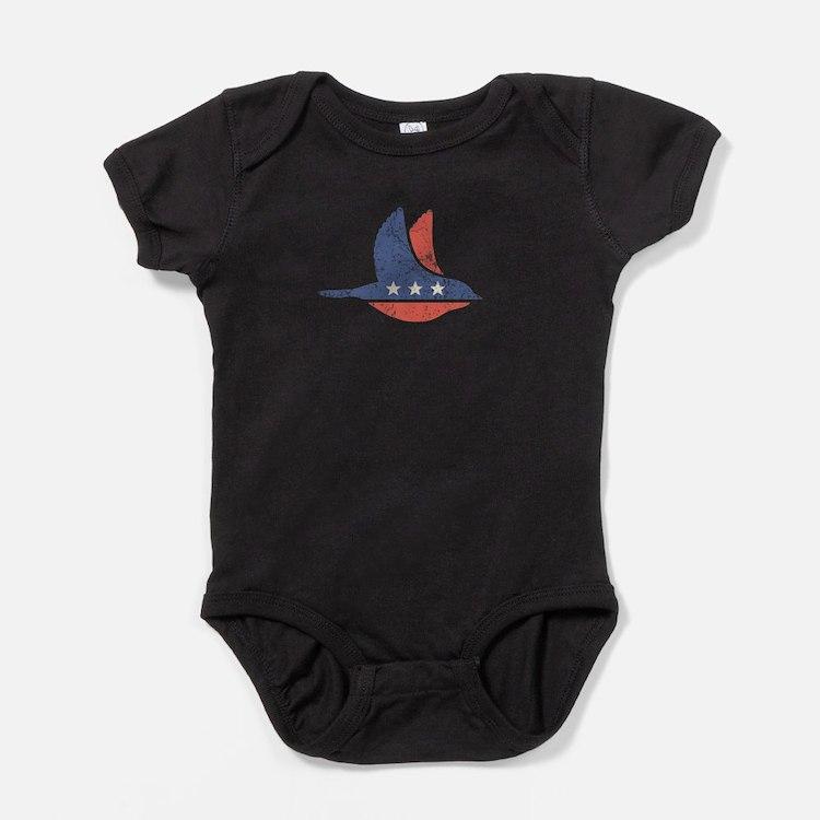 Social Democrat Logo Baby Bodysuit