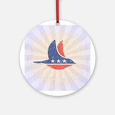 Social Democrat Logo Round Ornament